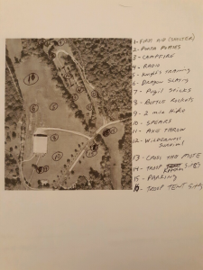 Trail Life site map 2019